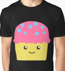 Cute Cupcake Graphic T-Shirt