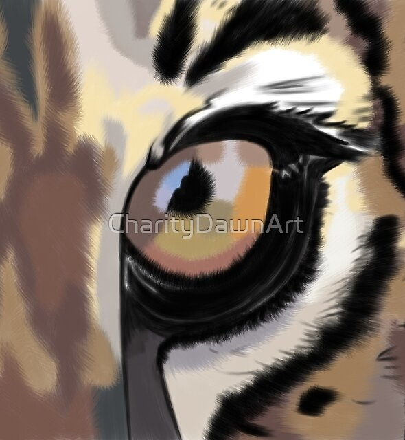 Eye of the Tiger by CharityDawnArt