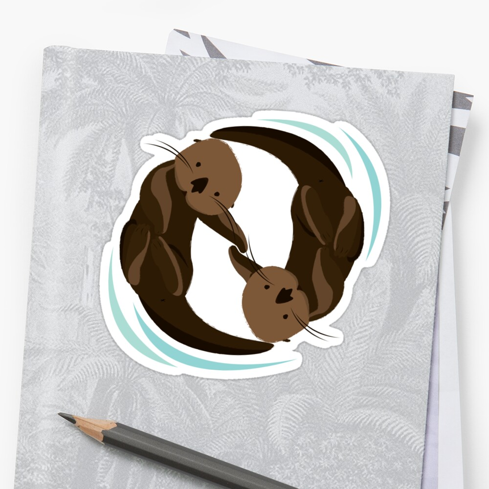 Otterfreunde Sticker
