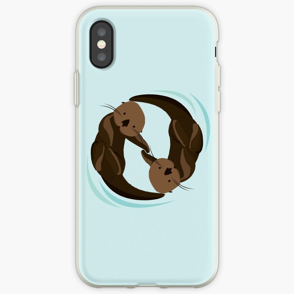 Otterfreunde iPhone-Hülle & Cover