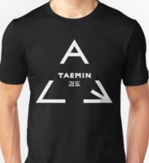 Taemin ACE Logo (White Version) Unisex T-Shirt