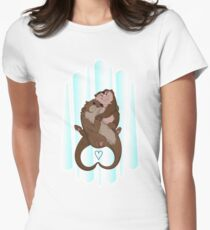 Significant Otters Women's Fitted T-Shirt
