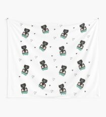 Teddies in swimming suits Wall Tapestry