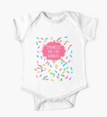 Sprinkles Are for Winners One Piece - Short Sleeve