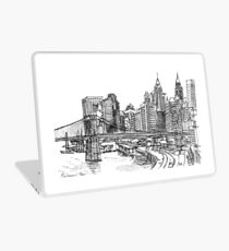 View from East River Drive Laptop Skin