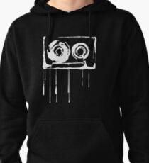 Splatter  Cassette (white) Pullover Hoodie