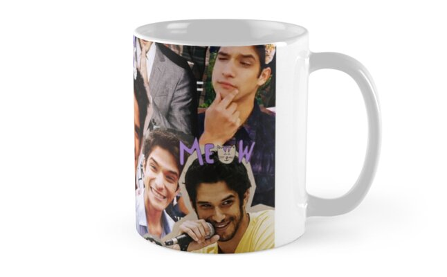 tyler posey collage mugs by luxvida redbubble