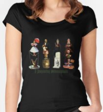 A Disquieting Metamorphosis Women's Fitted Scoop T-Shirt
