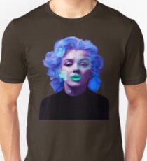 Paradox of Marylin Monroe (purple) Unisex T-Shirt