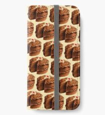 Chocolate Cake Pattern iPhone Wallet/Case/Skin