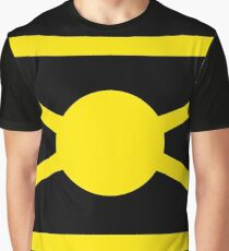 Planet of Coruscant Flag Graphic T-Shirt