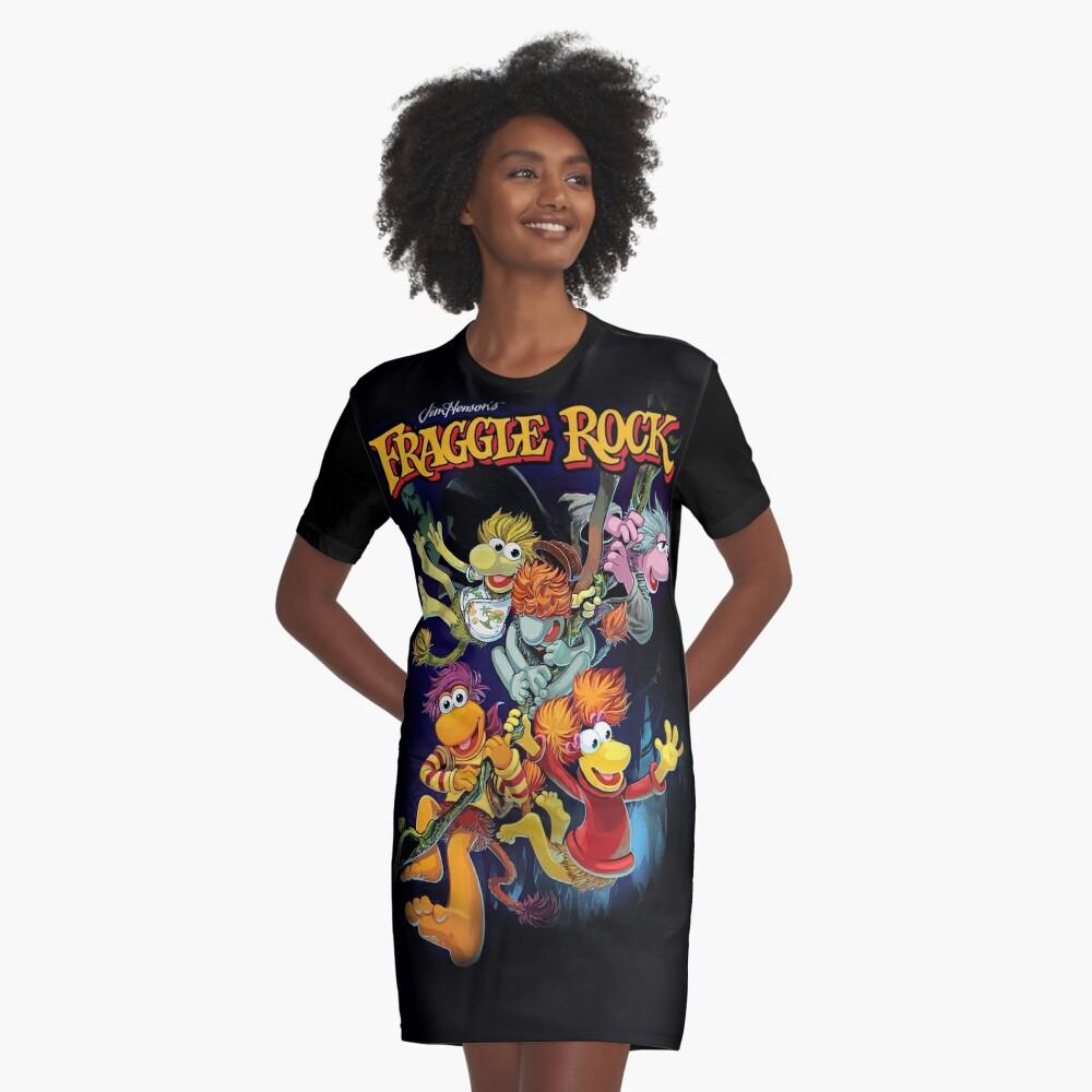 Fraggle-Felsen T-Shirt Kleid