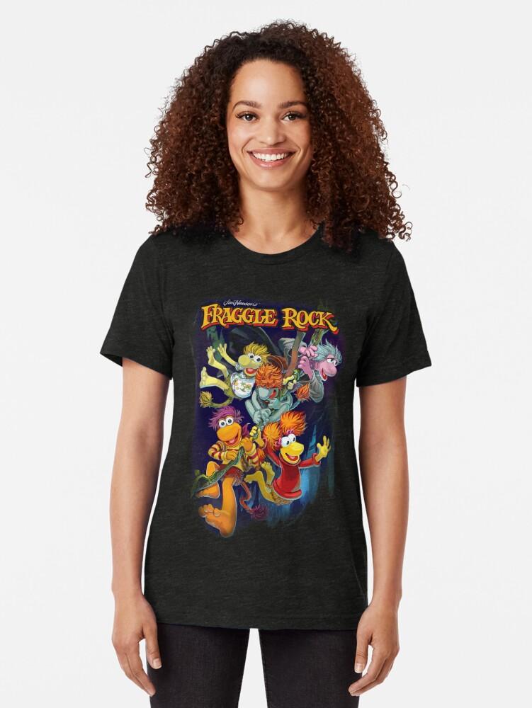 Alternative Ansicht von Fraggle-Felsen Vintage T-Shirt