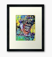Starry night, Vincent graffiti mashup Framed Print