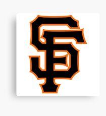 San Francisco Giants logo Canvas Print