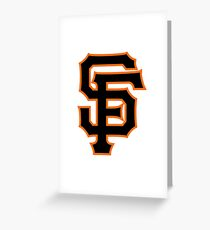 San Francisco Giants logo Greeting Card