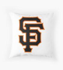 San Francisco Giants logo Throw Pillow
