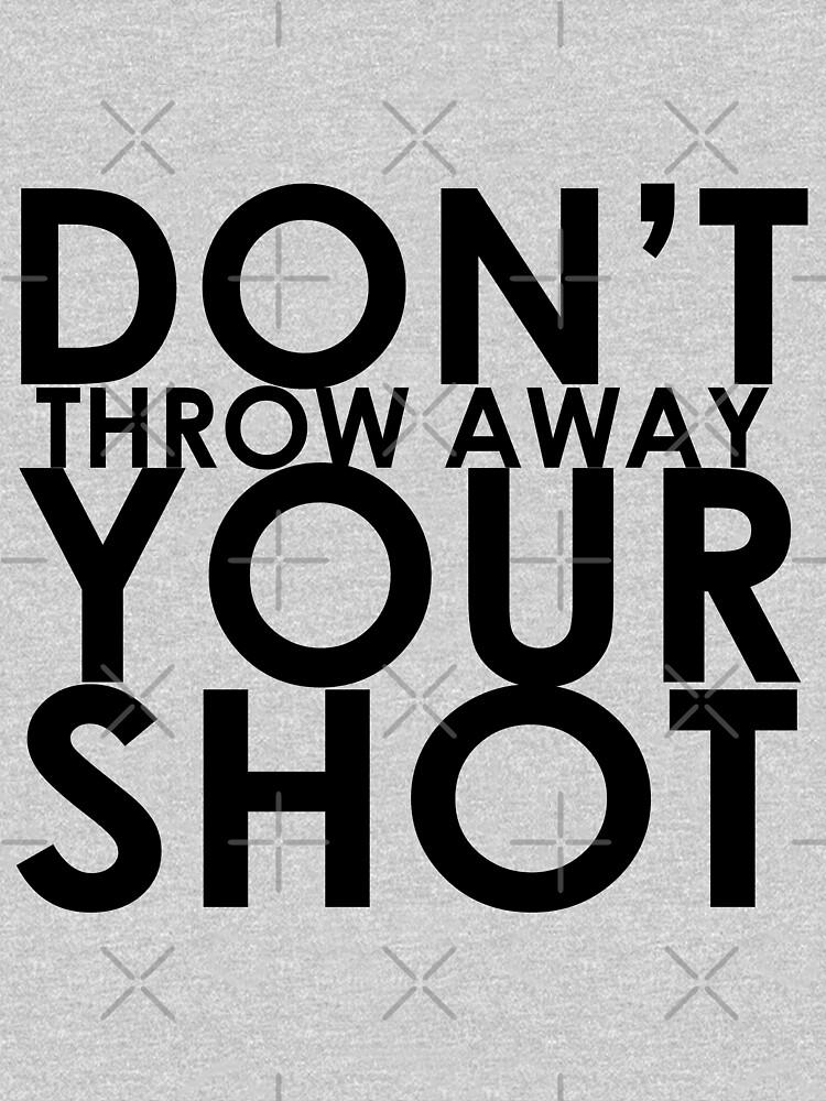 Werfen Sie Ihren Schuss nicht weg von HenryBourke767