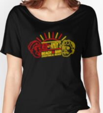 Red and Andy's Beach Bar, Zihuatanejo Women's Relaxed Fit T-Shirt
