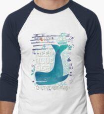 Deep blue sea. Spirit of adventure. T-Shirt