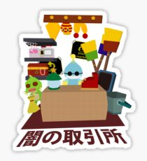 Chao Black Market Sticker