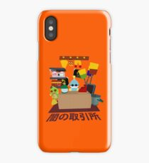 Chao Black Market iPhone Case