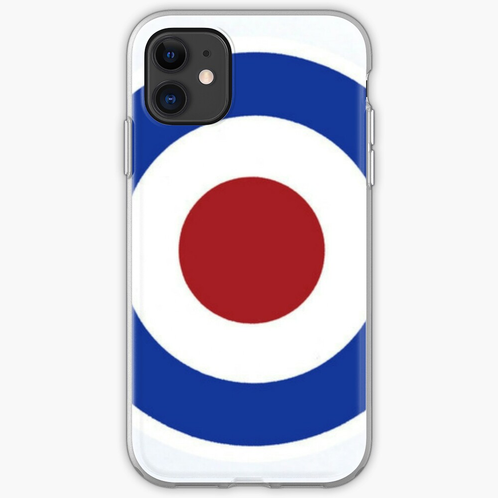 """""""RAF Target"""" IPhone Case & Cover By Mysteriousways"""