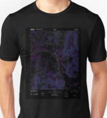 USGS TOPO Map Alabama AL Farley 20110921 TM Inverted T-Shirt