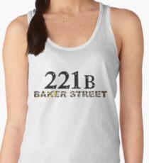 221B Baker Street Women's Tank Top