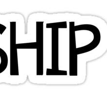I Ship it! Sticker