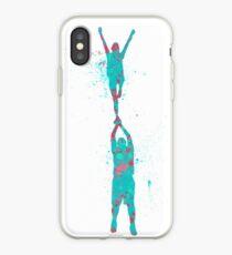 Cheer - Splatter Holly iPhone Case