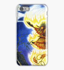 The Raven and The Phoenix iPhone Case/Skin