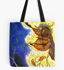 The Raven and The Phoenix Tote Bag