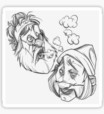 Cheech and Chong Sticker