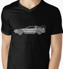 Delorean Men's V-Neck T-Shirt