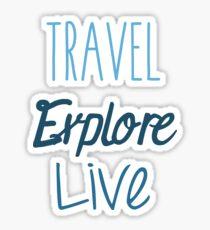 Travel Explore Live Sticker