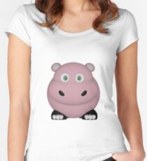 Pink Hippo Women's Fitted Scoop T-Shirt