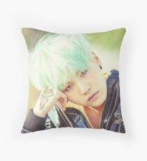suga  Throw Pillow
