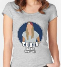 TOBS IS MY HOMIE Women's Fitted Scoop T-Shirt