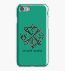 Monster Hunter Guild iPhone Case/Skin