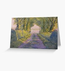 Hockney's Tunnel from t'Other Side  Greeting Card