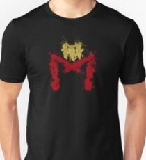 Dredd Helmet Splodge Unisex T-Shirt