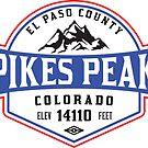PIKES PEAK COLORADO Skiing Ski Mountain Mountains Snowboard National Forest by MyHandmadeSigns