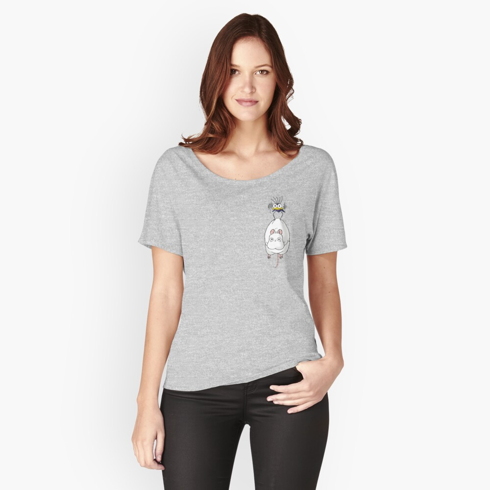 Spirited Away Mouse and Fly Women's Relaxed Fit T-Shirt Front