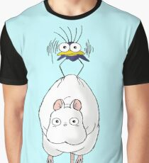 Spirited Away Mouse and Fly Graphic T-Shirt