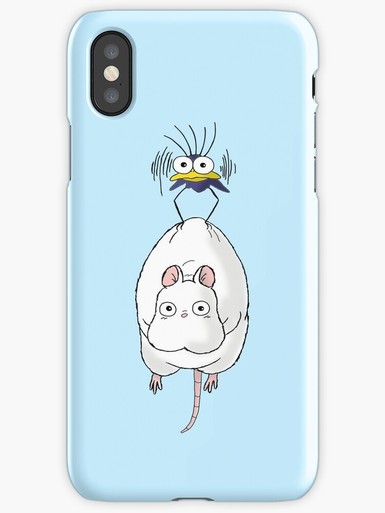 Spirited Away Mouse and Fly by Keelin  Small