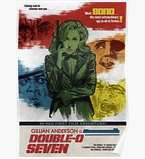 Gillian Anderson is Double-O Seven Poster