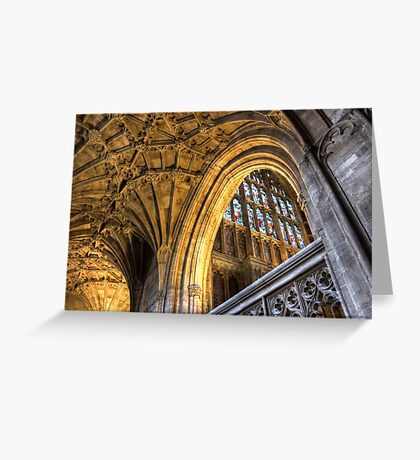 Golden Arch Greeting Card