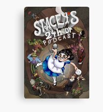 Stacey's 24 Hour Podcast Canvas Print