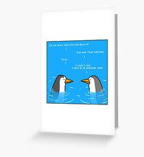 Penguin Day Greeting Card